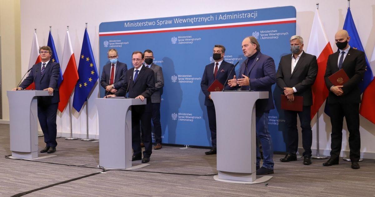 Mariusz Kamiński, Maciej Wąsik, Rafał Jankowski