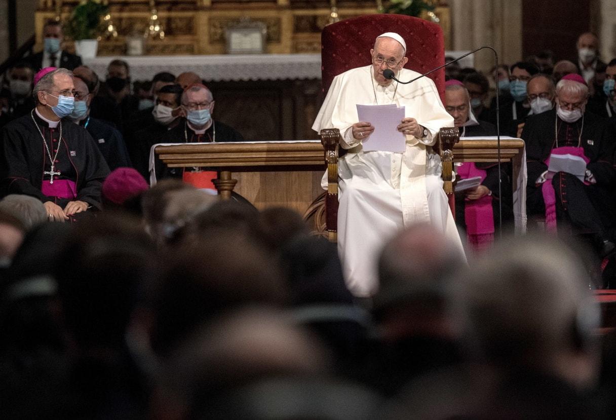 Papież Franciszek ostrzega przed fałszywym duchem światowości