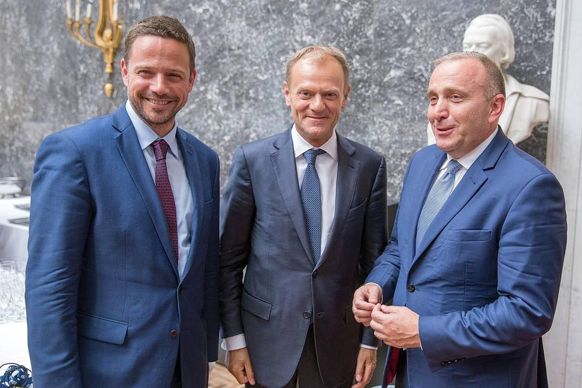 Tusk, Trzaskowski i Schetyna