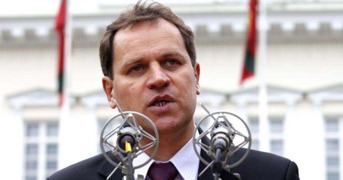 Przewodniczący AWPL-ZChR, Waldemar Tomaszewski.