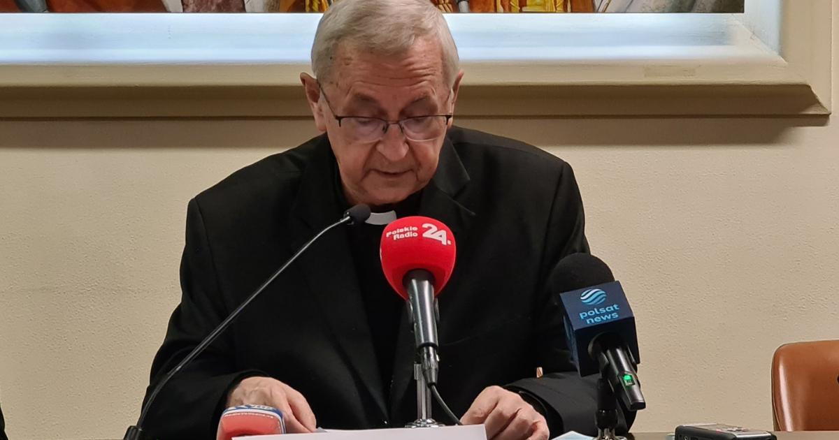 Abp Stanisław Gądecki. Briefing prasowy - Ad limina apostolorum