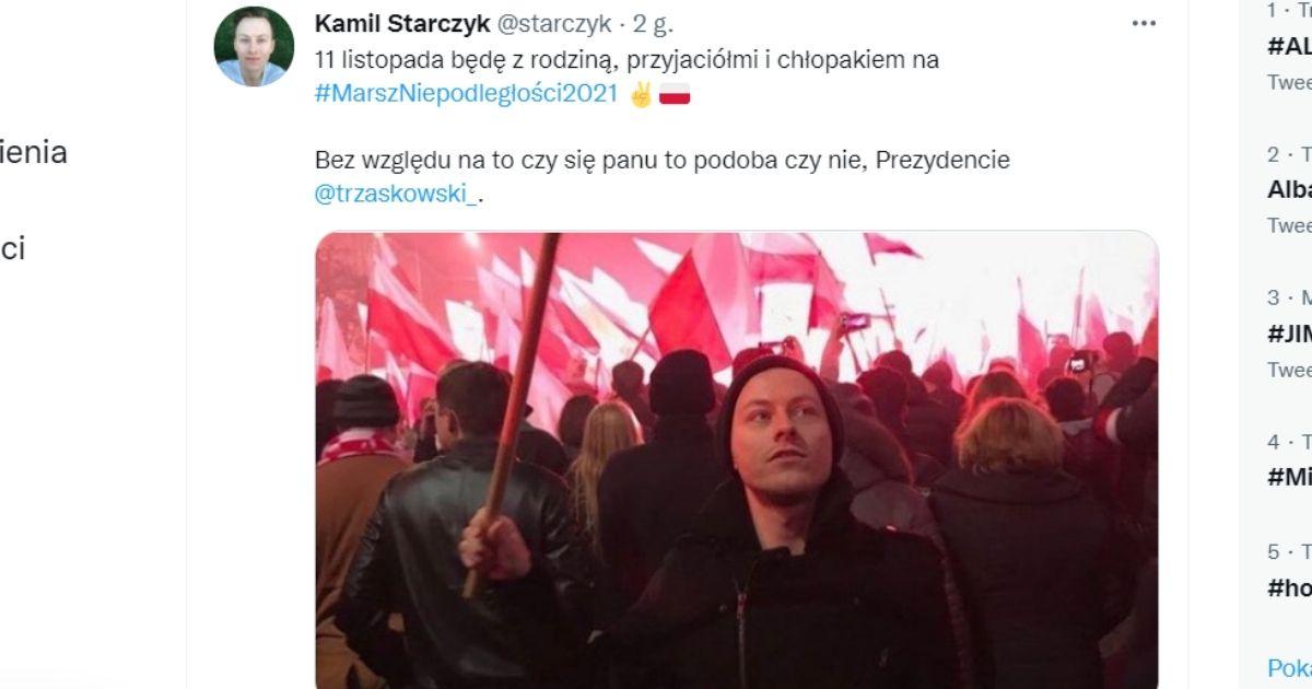 Wpis Kamila Starczyka.