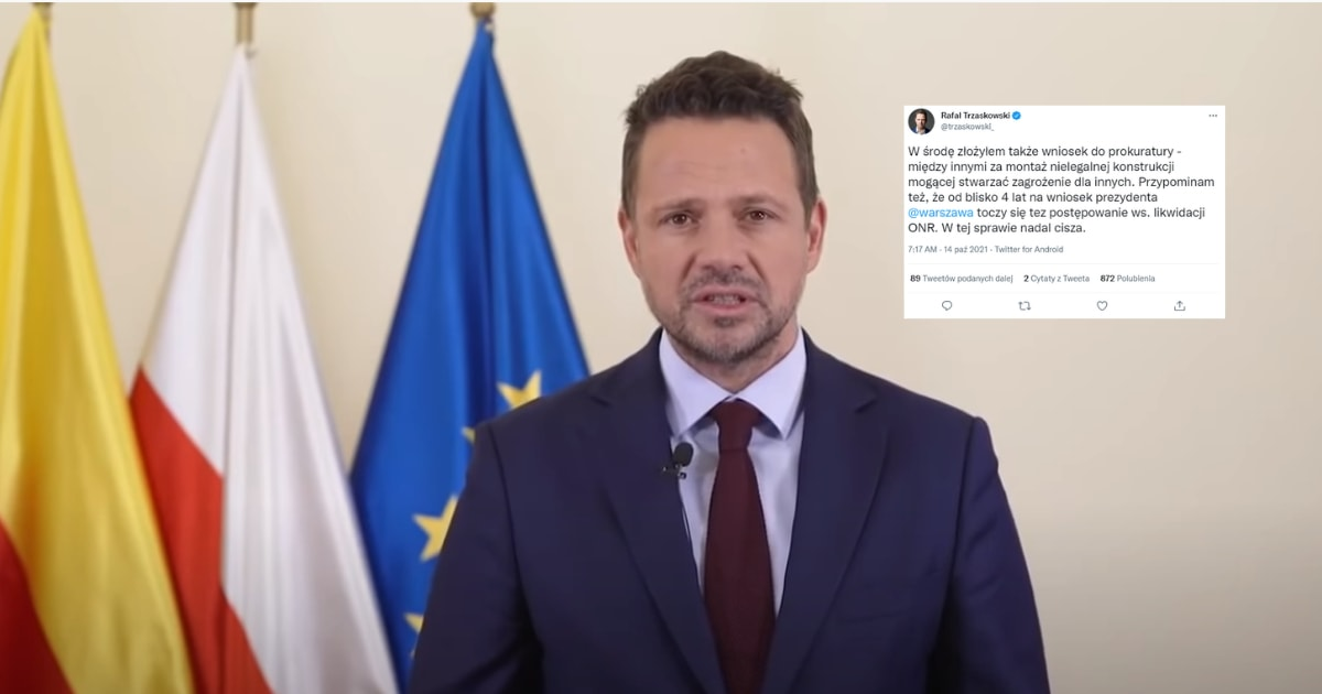 Trzaskowski twitt